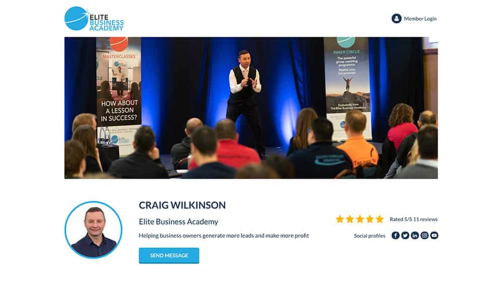 BUSINESS PROFILE AND 5 STAR REVIEWS